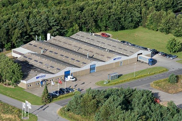 Luftfoto af Nytech