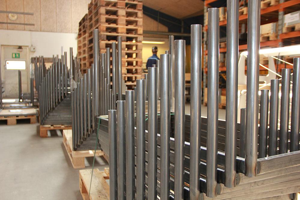 Produktion af stel til møbelindustrien