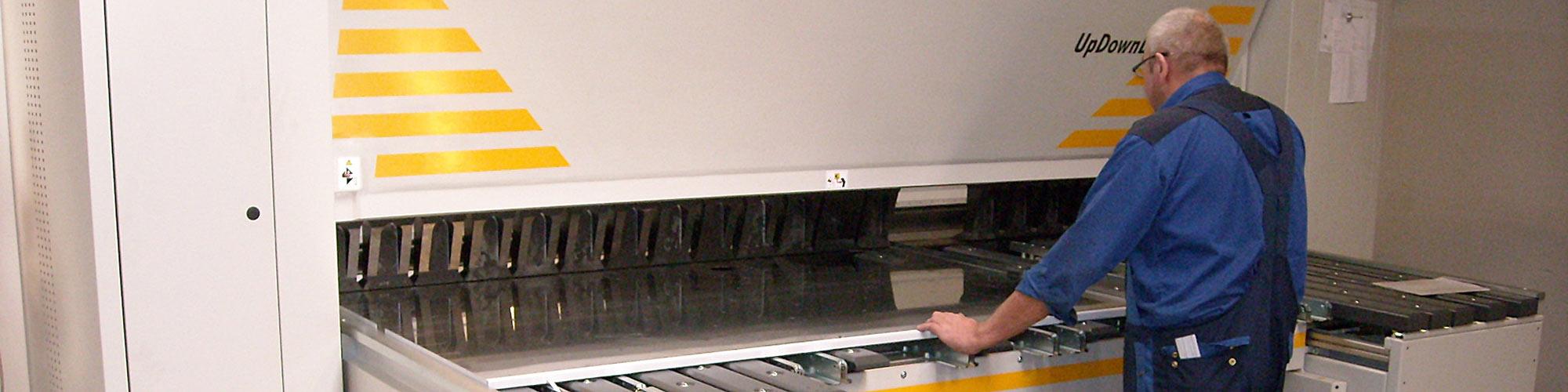 CNC pladebukning
